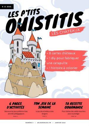 Les p'tits ouistitis et les châteaux