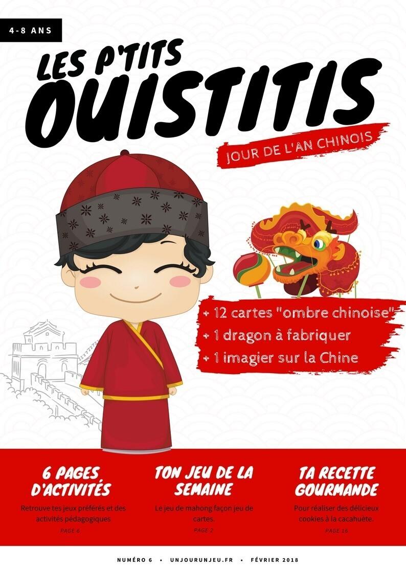 Les P'tits ouistitis - Jour de l'an chinois