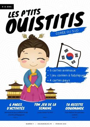 Les P'tits ouistitis - La Corée du Sud