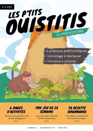 Les P'tits ouistitis - La préhistoire