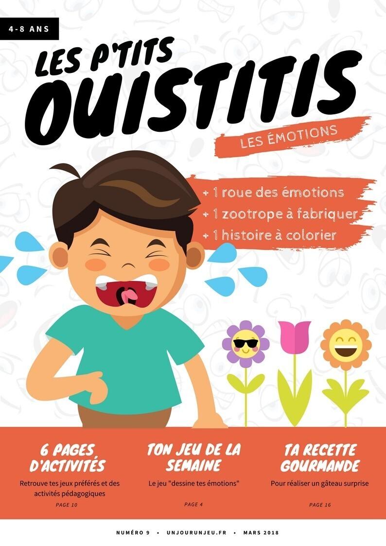 Les P'tits ouistitis - Les émotions