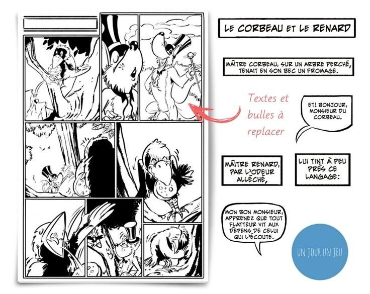 Textes fable de La Fontaine