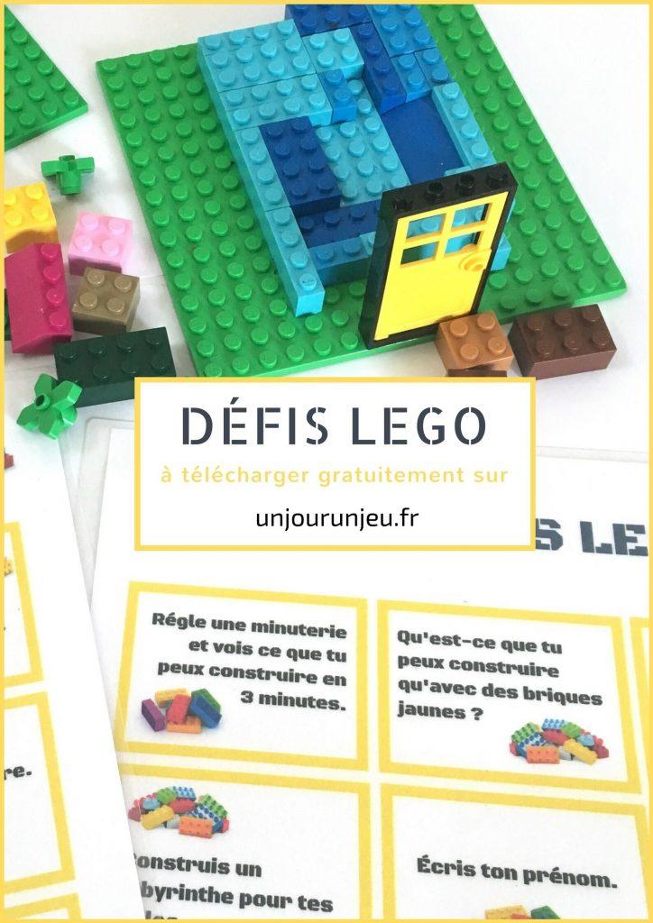 Défis Lego