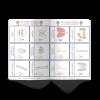 Les P'tits ouistitis et le corps humain - cartes nomenclature
