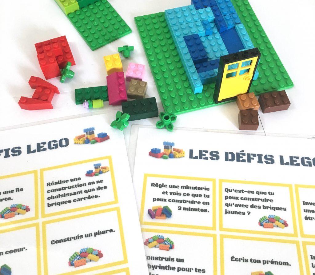 30 Défis Lego