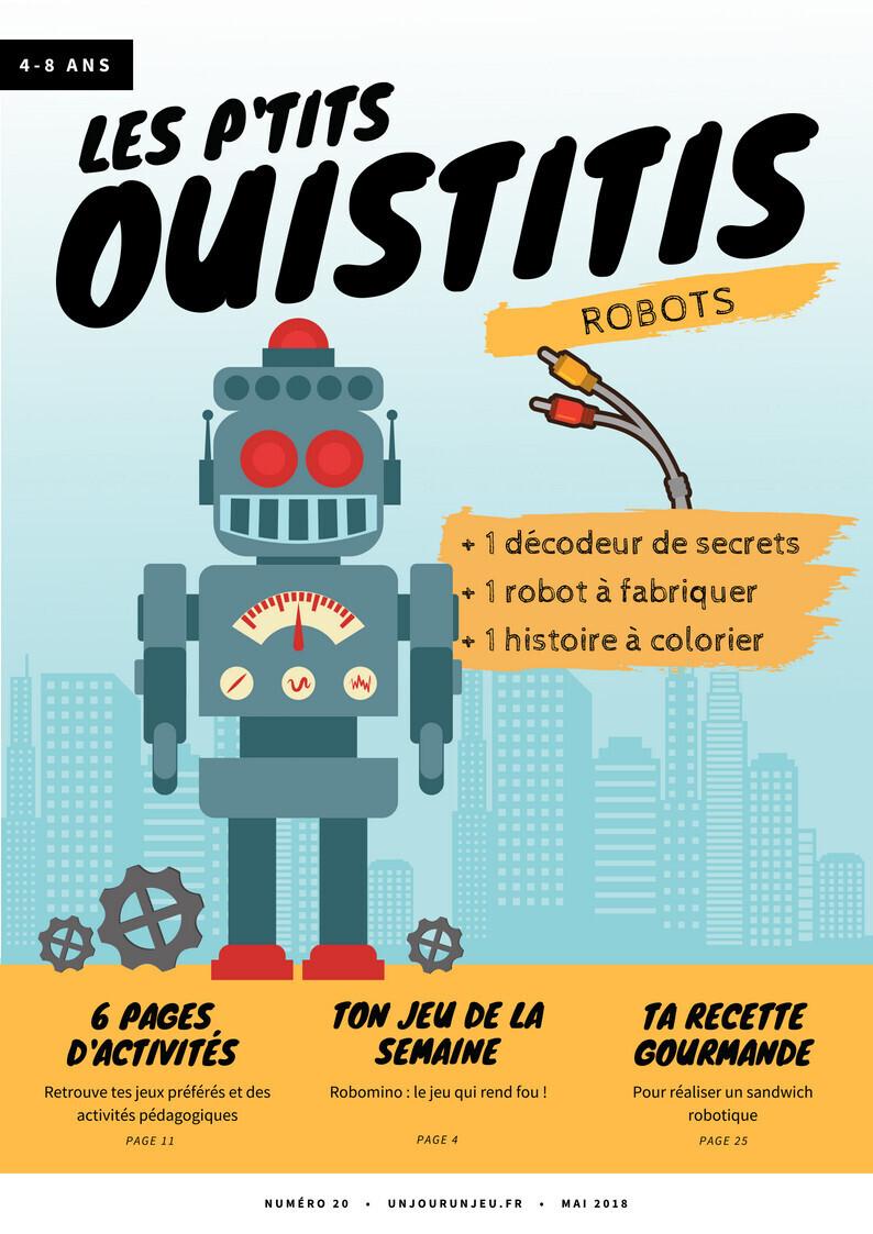 Les P'tits Ouistitis et les robots