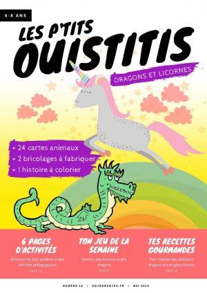 Les P'tits Ouistitis - licornes et dragons