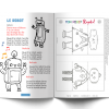 Les P'tits Ouistitis - robots : comptine et flip flap book