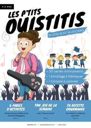 Les p'tits Ouistitis et la musique