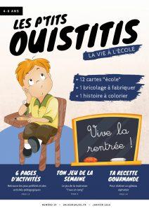Les P'tits Ouistitis retournent à l'école