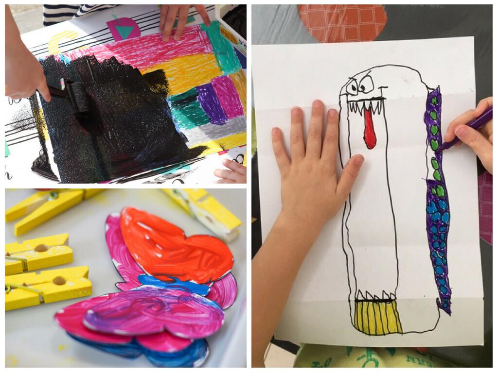 20 activités manuelles faciles à réaliser pour enfants en maternelle