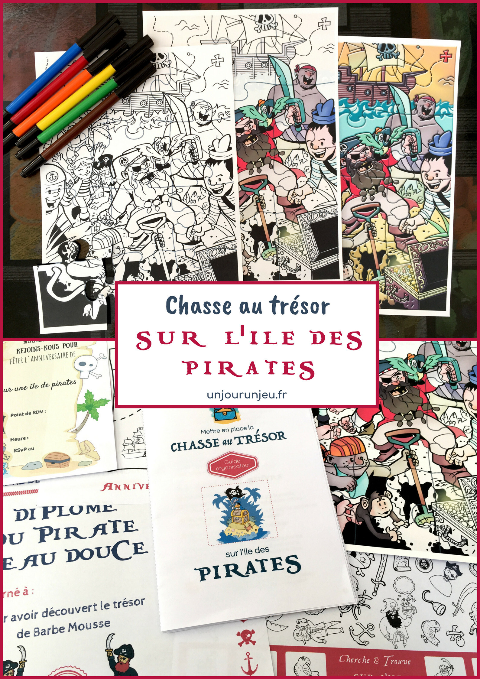 chasse au trésor gratuite pirate