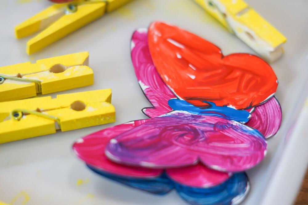 Activité manuelle : papillons
