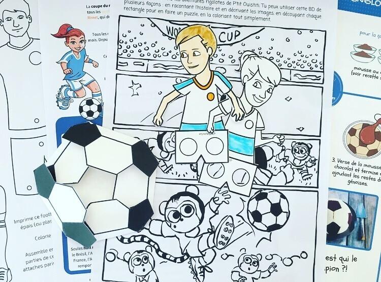 Cahier activités football