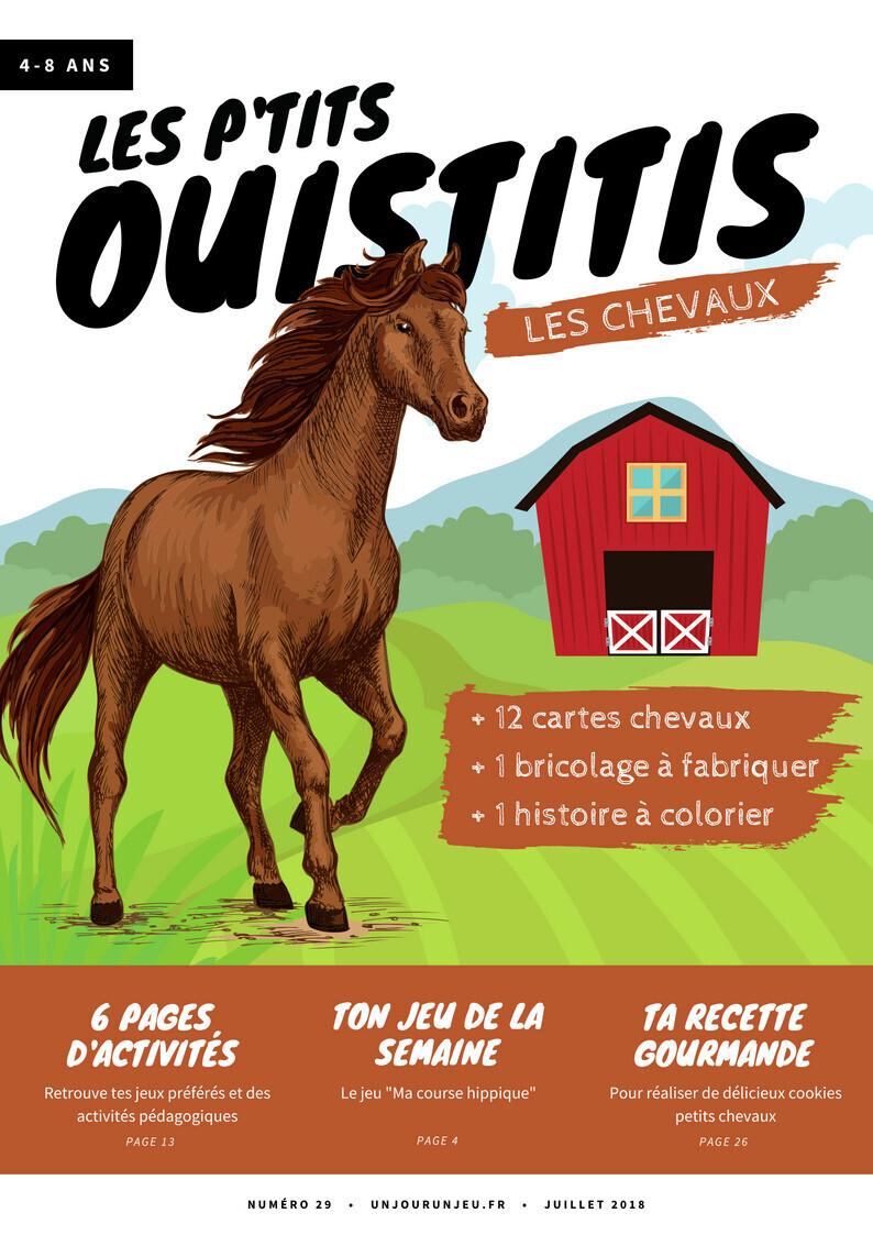 Les P'tits Ouistitis et les chevaux