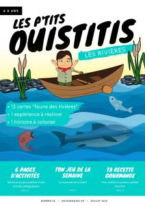 Les P'tits Ouistitis et les rivières - couv