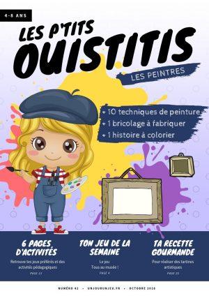 Découvrir les techniques de peinture avec les P'tits Ouistitis