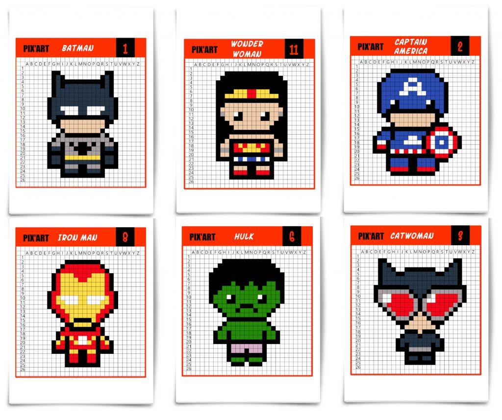 Les Super Héros Débarquent En Pixel Art Un Jour Un Jeu