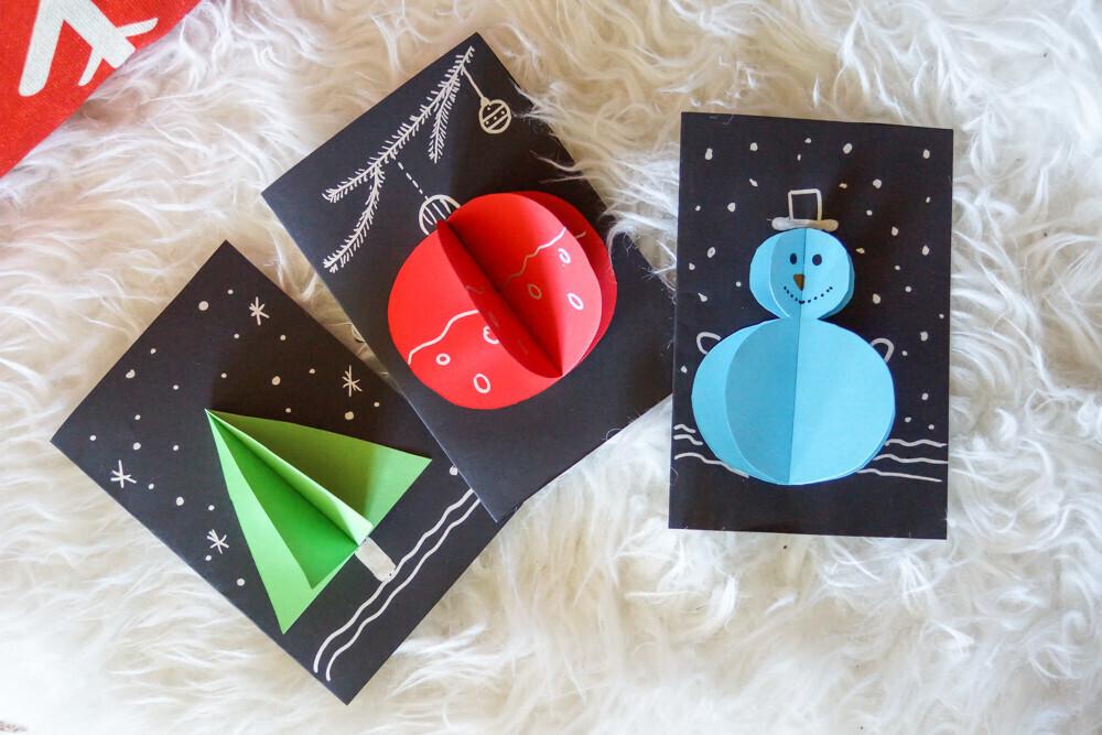 Des cartes de vœux en 2 min pour Noël   Un jour un jeu