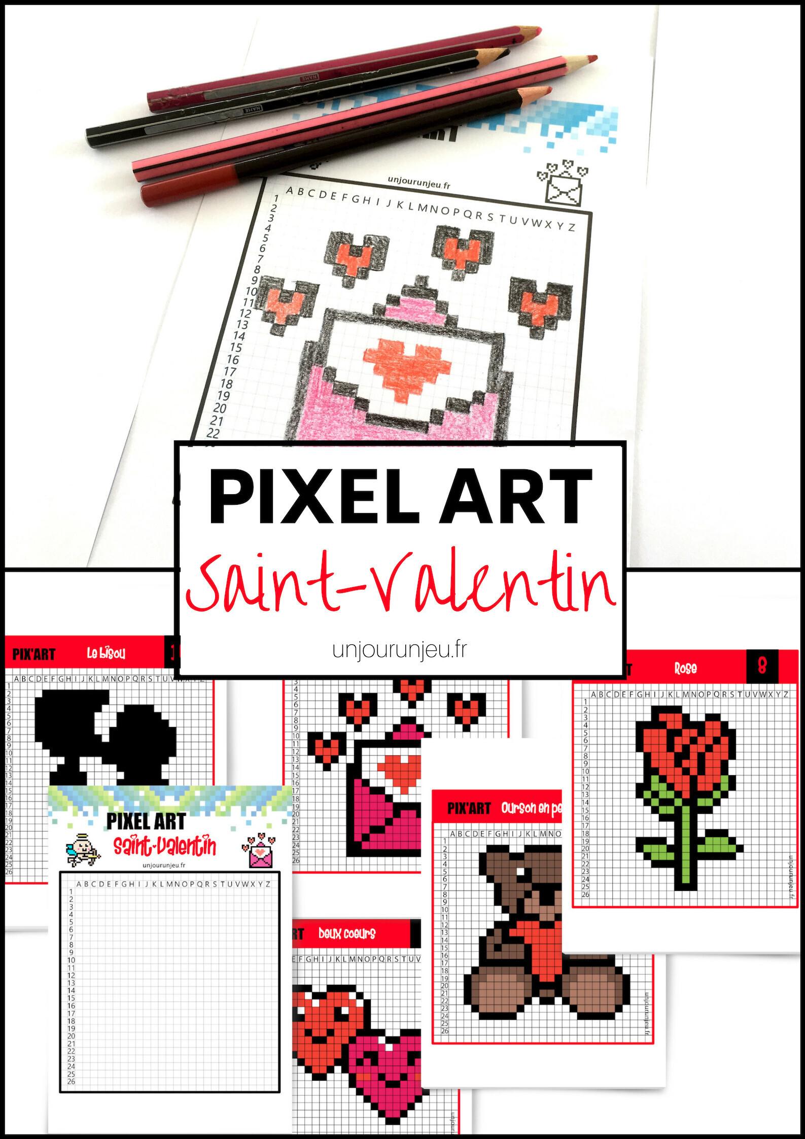 Lamour En Pixel Art Pour La Saint Valentin Un Jour Un Jeu