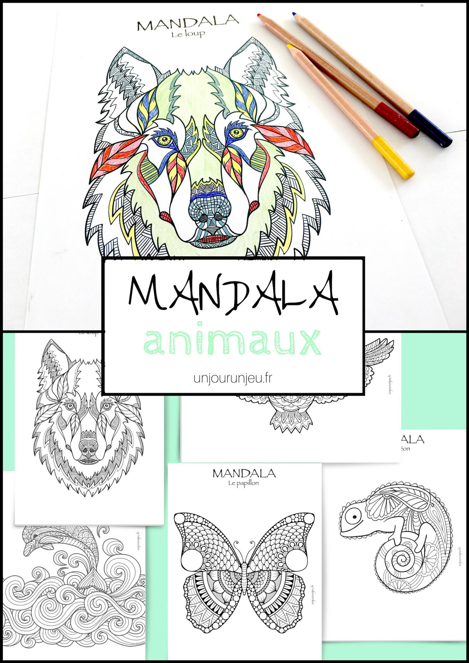 Coloriage Mandala Animaux Sauvages.Coloriages Mandalas Animaux A Telecharger Pour Enfants Et Adultes