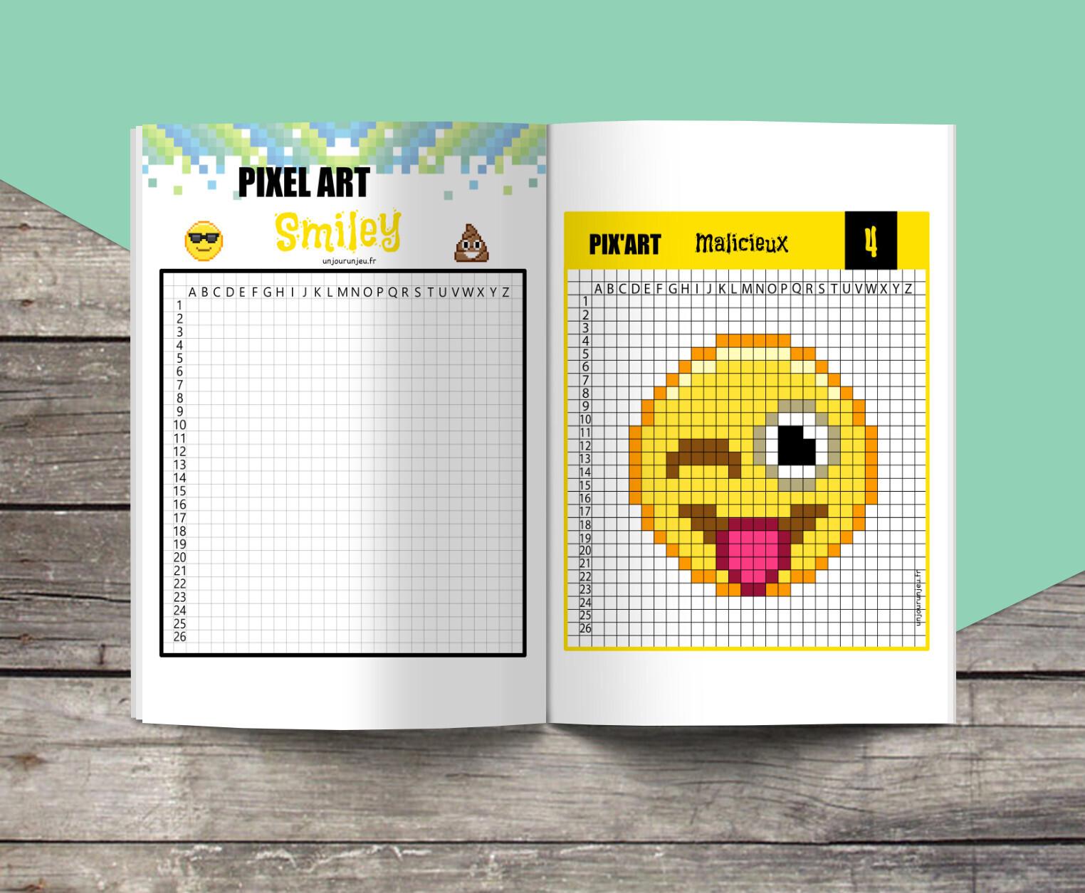 12 Modèles De Pixel Art Smiley à Télécharger Gratuitement