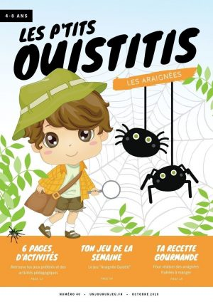 Les P'tits Ouistitis et les araignées