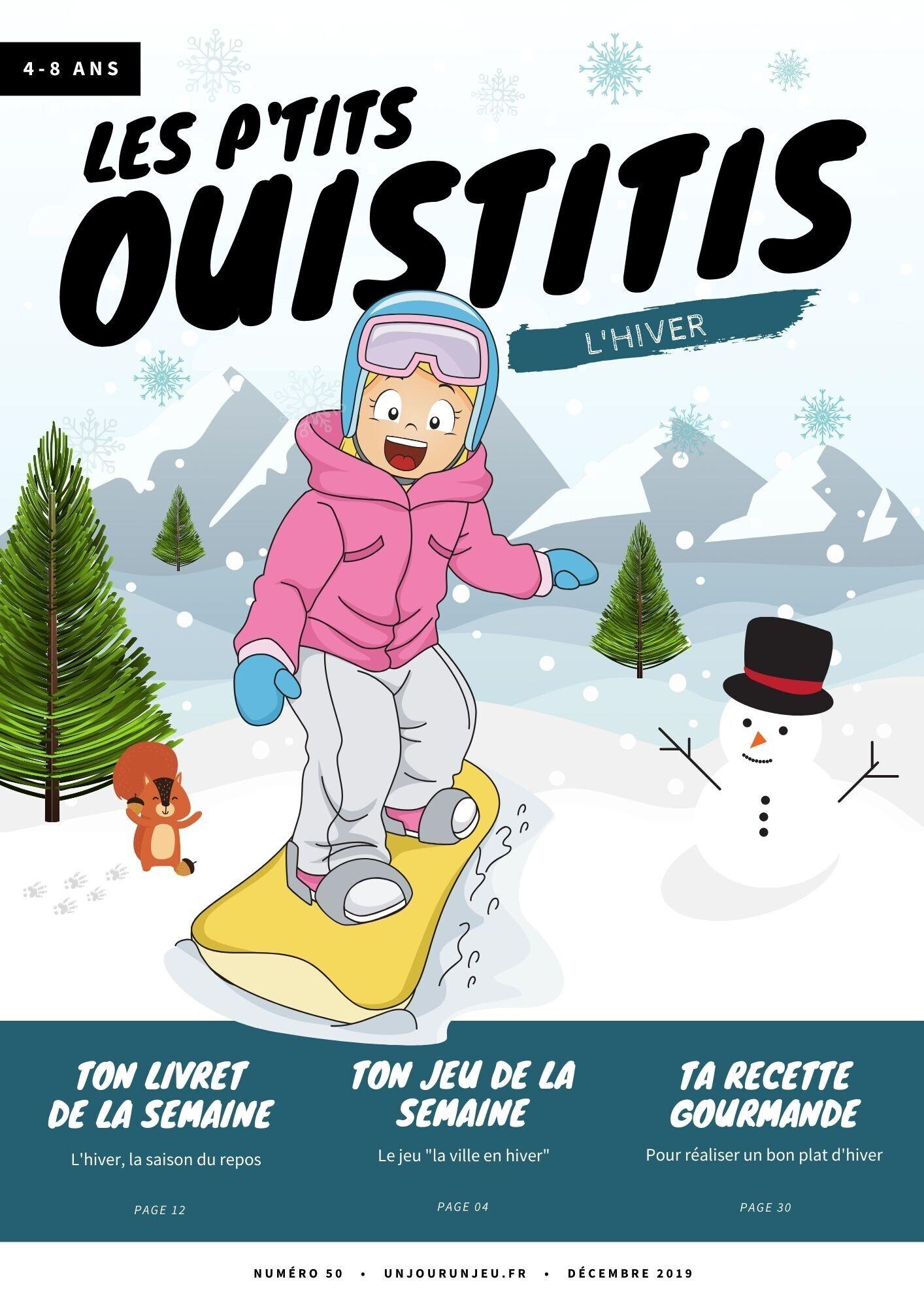 Les P'tits Ouistitis et l'hiver