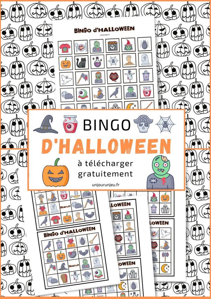 Bingo D Halloween A Telecharger Gratuitement Pour Vos Enfants
