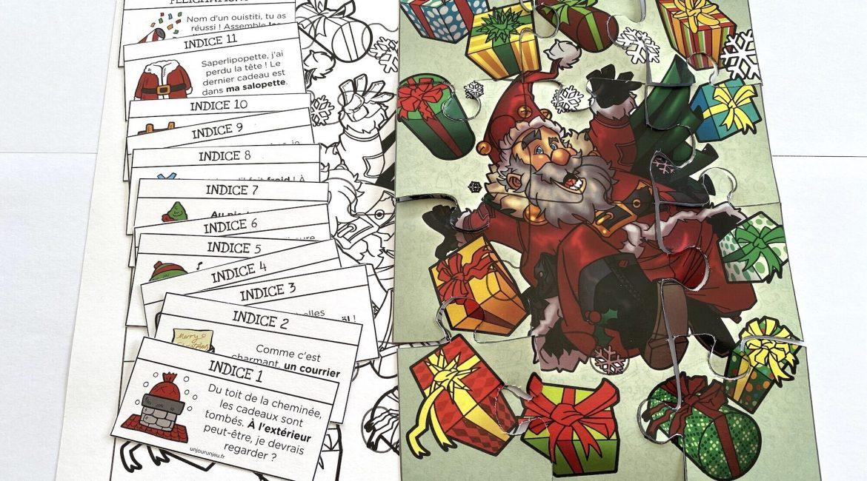 Chasse Au Tresor De Noel A Imprimer Gratuitement Un Jour Un Jeu