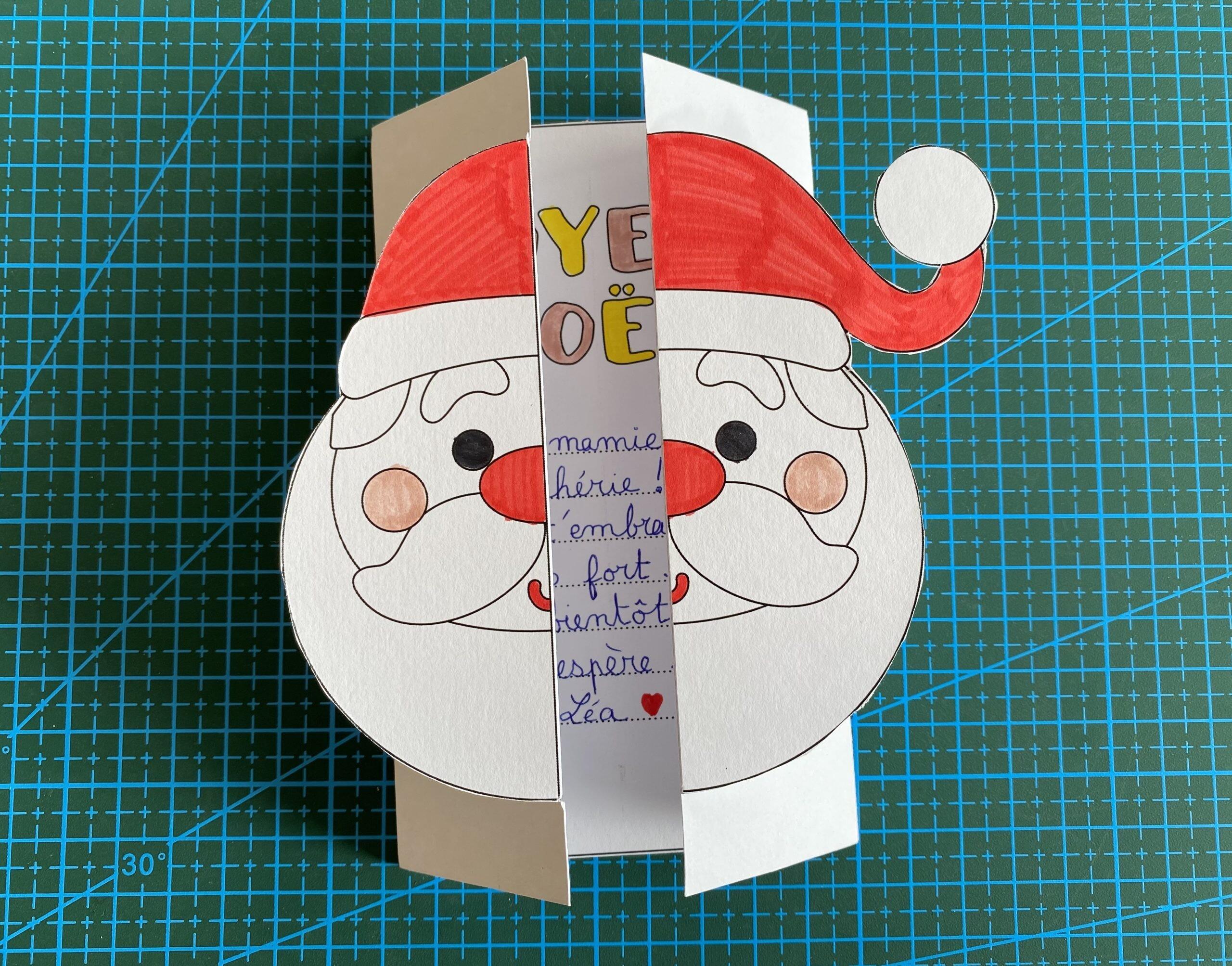 Mes cartes de vœux de Noël à imprimer