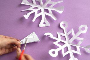 Flocons de neige à découper