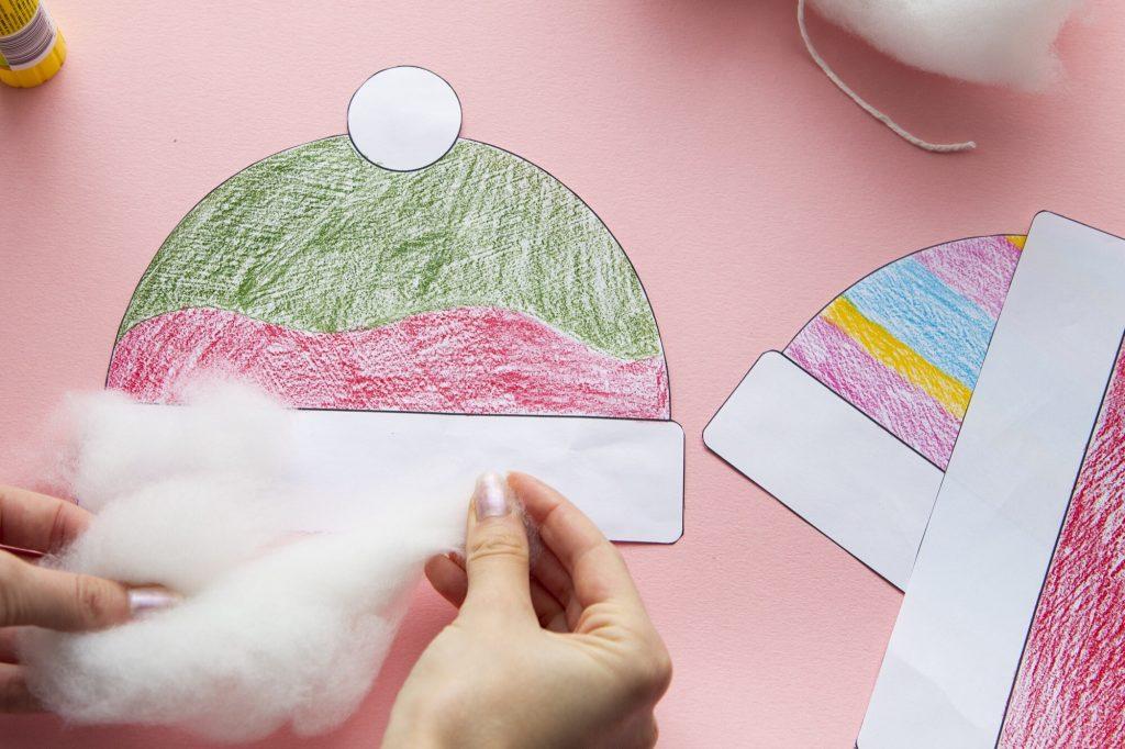 Mes bonnets d'hiver - étape 5