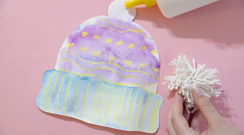 Mon bonnet d'hiver en aquarelle - couv