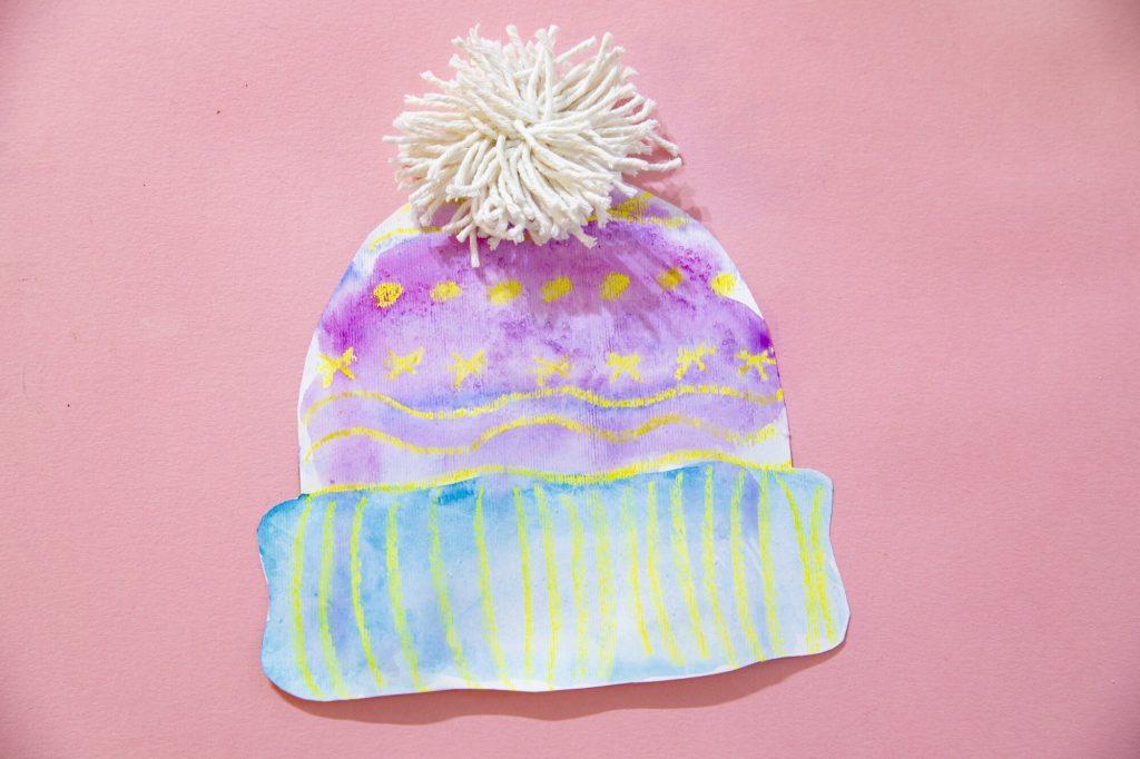 Mon bonnet de l'hiver - résultat