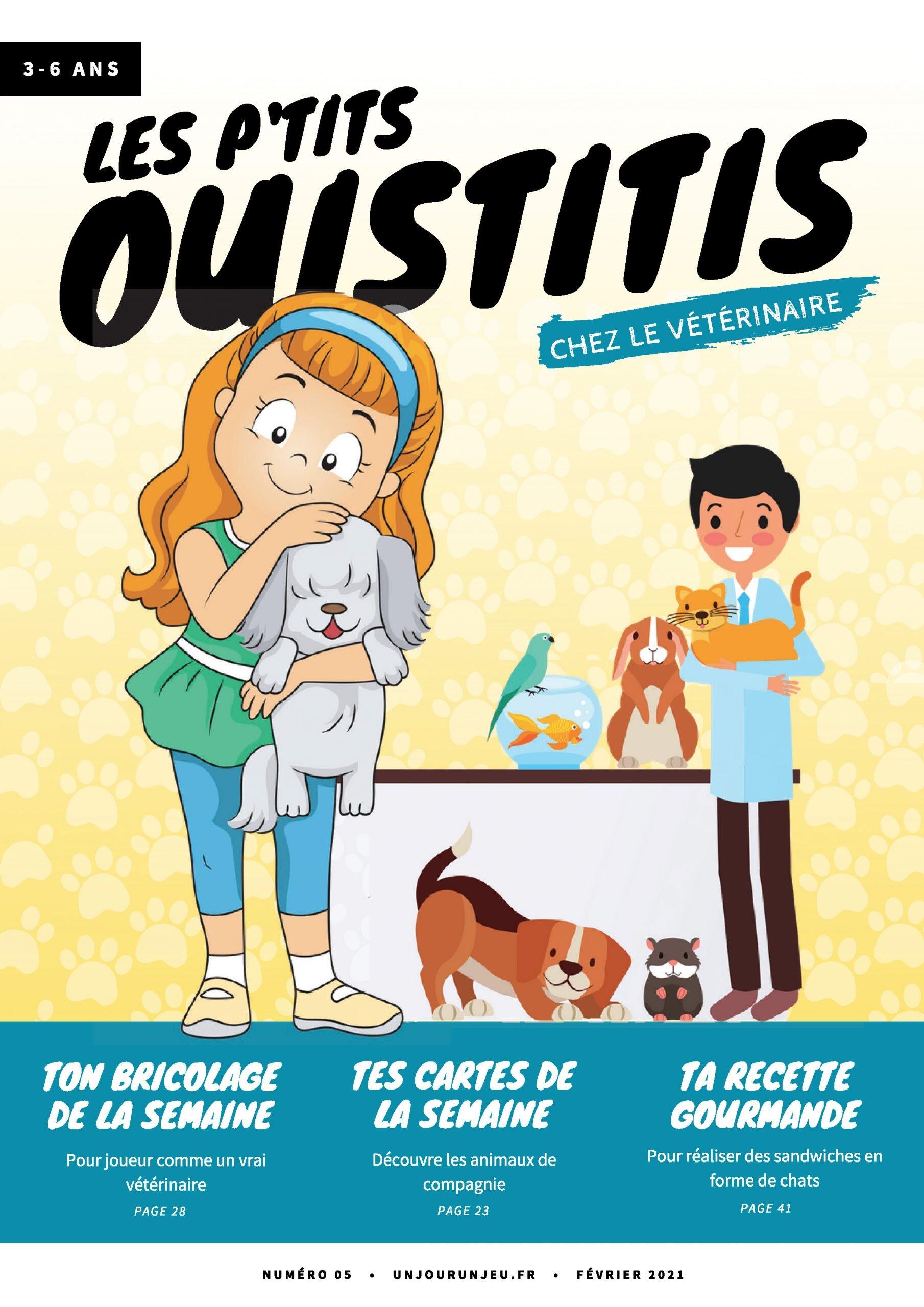 Les P'tits Ouistitis chez le vétérinaire