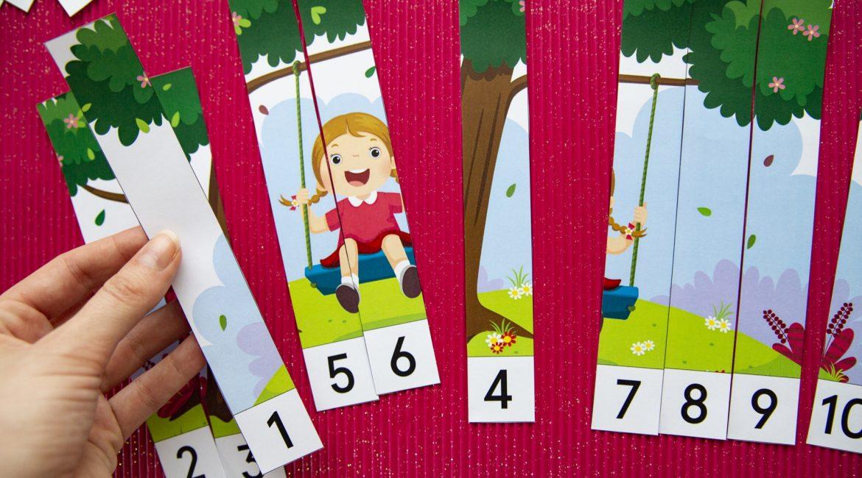 Puzzles numériques printemps - étape 4