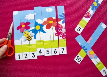 Puzzles numériques printemps - étape 3