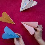 Mes avions en papier de la Saint Valentin