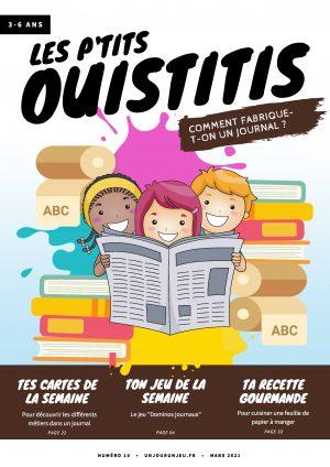 Les P'tits Ouistitis et la fabrication d'un journal