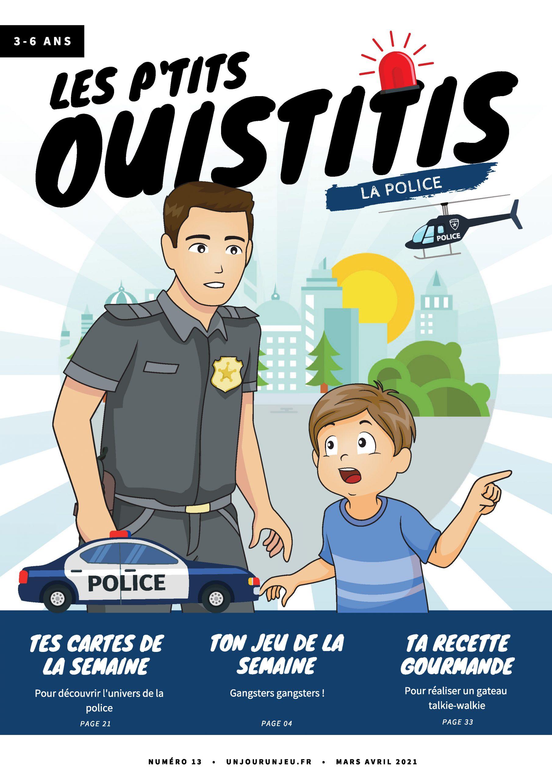 Les P'tits Ouistitis et la police
