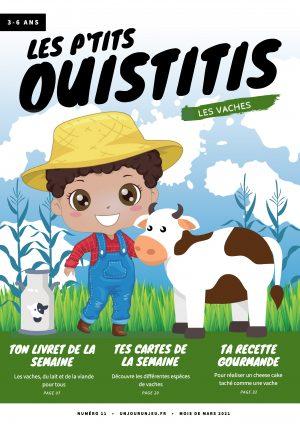 Les P'tits Ouistitis et les vaches