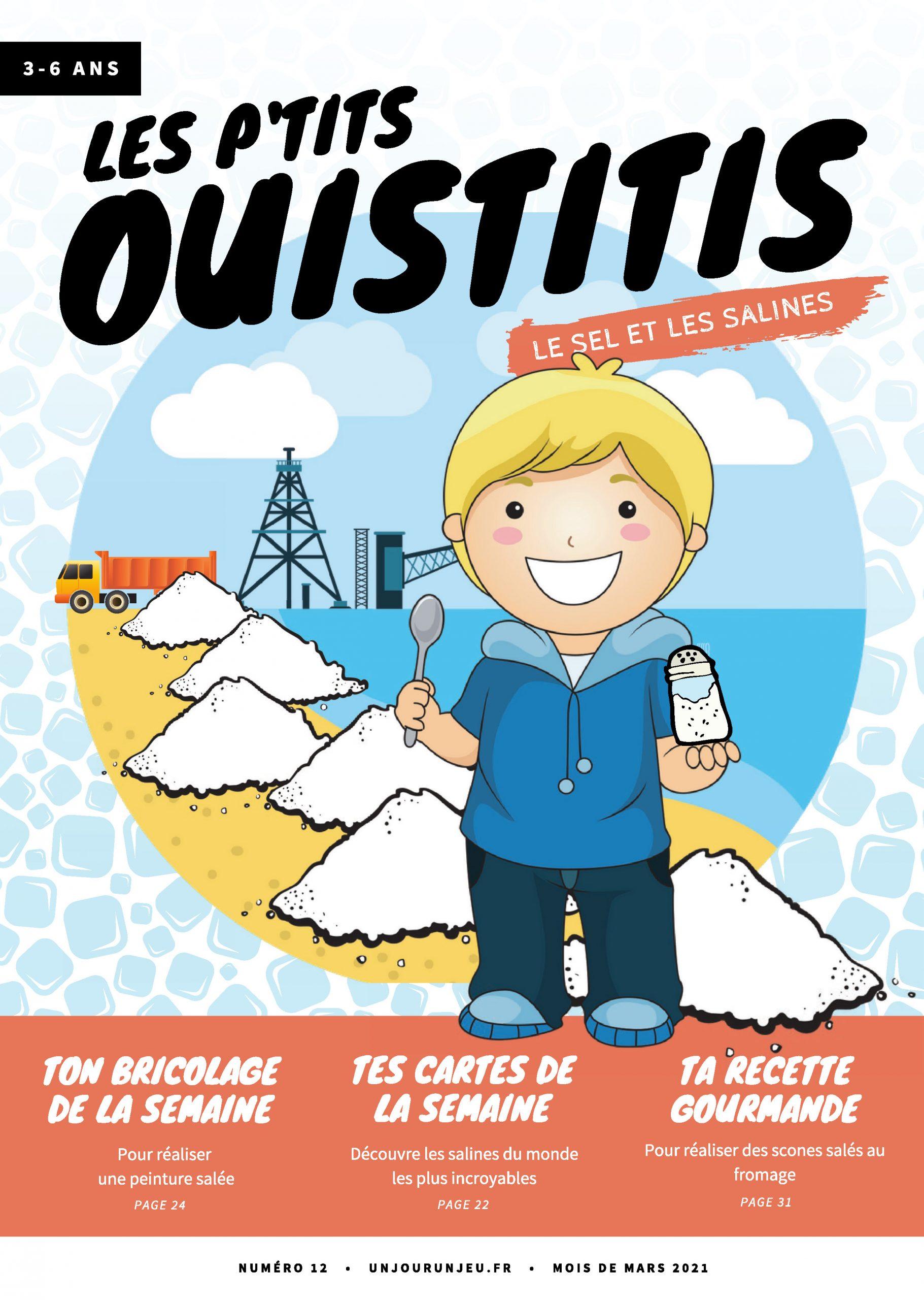 Les P'tits Ouistitis, le sel et les salines