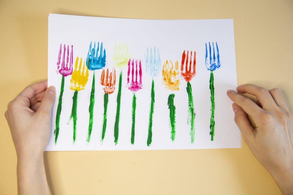 Résultat fleurs fourchettes