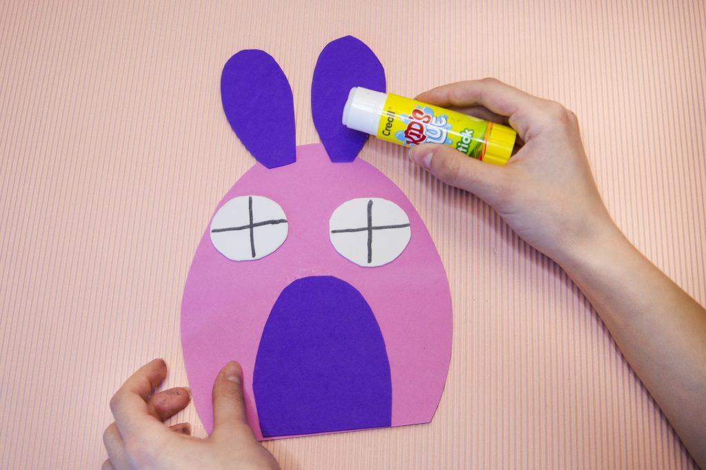 Maison lapin de Pâques - étape 5