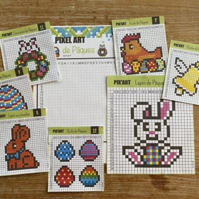 Pixel art de Pâques