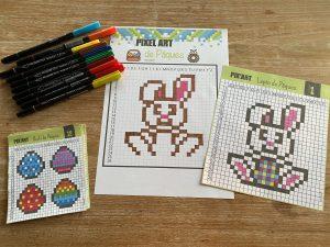 Pixel art de Pâques - 1