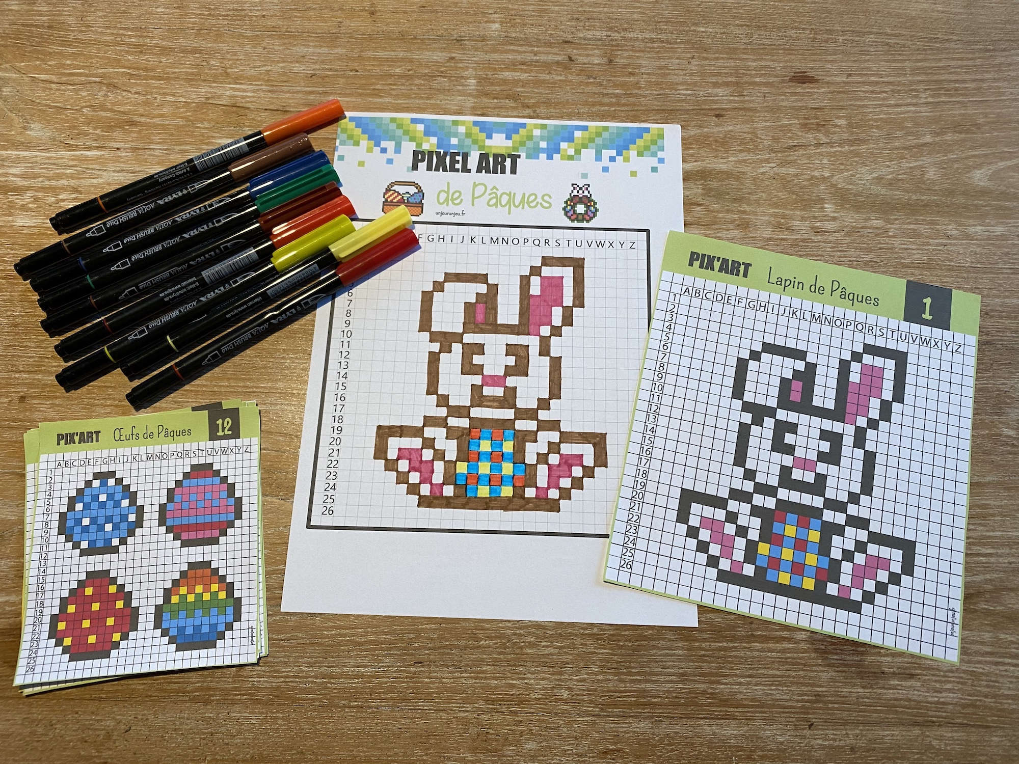 Pixel art de Pâques - 5