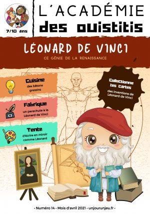 L'Académie des Ouistitis et Léonard de Vinci
