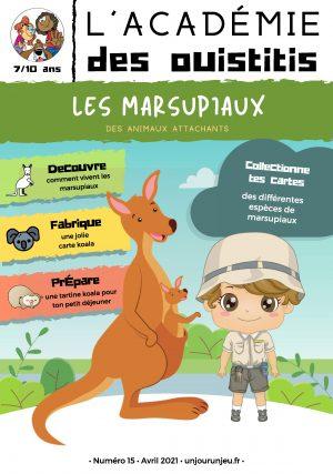 L'Académie des Ouistitis et les marsupiaux